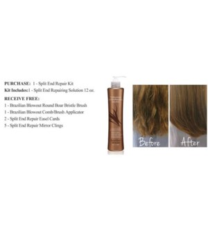 DISC//BRAZILIAN BLOWOUT SPLIT END KIT