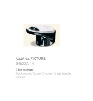 BE 522A14 FIXTURE (SINK HANDLE)