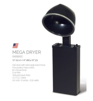 BE MEGA HAIR DRYER