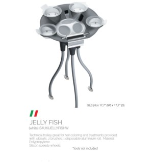 BE JELLY FISH TROLLEY WHITE