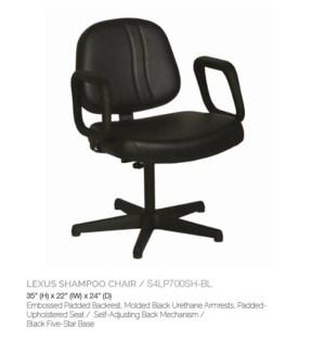 BE LEXUS SHAMPOO CHAIR