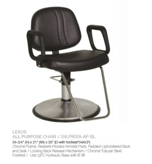 BE LEXUS ALL PURPOSE CHAIR