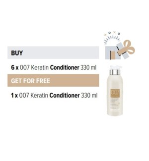 BIO 6 + 1 007 KERATIN CONDITIONER 330ML
