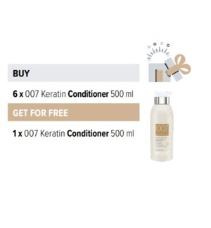 BIO 6 + 1 007 KERATIN CONDITIONER 500ML