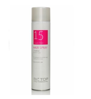 BIOTOP 15 CREATIVE HAIR SPRAY 650ML