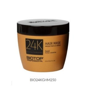 DISC// BIOTOP 24K GOLD HAIR MASK 250ML