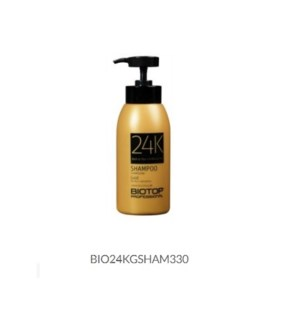 DISC// BIOTOP 24K GOLD HAIR SHAMPOO 330ML