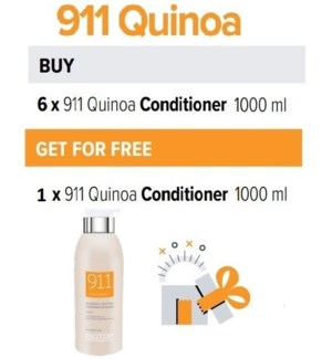 BIO 6 + 1 911 QUINOA CONDITIONER 1000ML