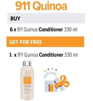 BIO 6 + 1 911 QUINOA CONDITIONER 330ML