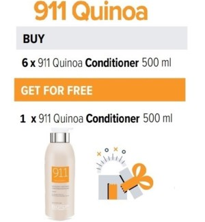 BIO 6 + 1 911 QUINOA CONDITIONER 500ML