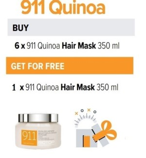 BIO 6 + 1 911 QUINOA HAIR MASK 350ML