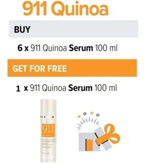 BIO 6 + 1 911 QUINOA HAIR SERUM 100ML