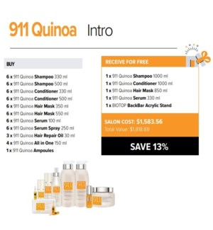 BIOTOP 911 QUINOA SALON INTRO 2020