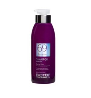 BIOTOP 69 PRO ACTIVE SHAMPOO CURLY HAIR 500ML