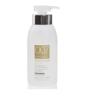 BIOTOP 007  KERATIN OIL SERUM 330ML - NOT FOR RETAIL