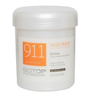BIOTOP 911  QUINOA HAIR MASK 850ML