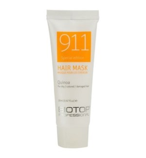 BIOTOP 911  QUINOA HAIR MASK TUBE 20ML