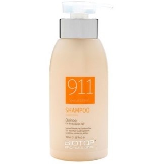 BIOTOP 911  QUINOA SHAMPOO DRY & COLOR 330ML