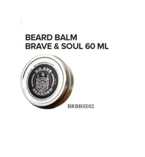 BRAVE AND BEARDED BRAVE AND SOUL BEARD BALM 60ML