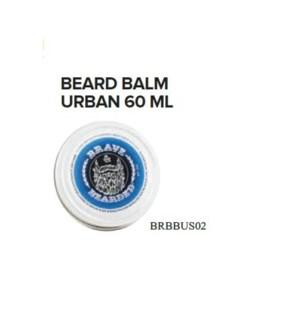 BRAVE AND BEARDED URBAN BEARD BALM 60ML