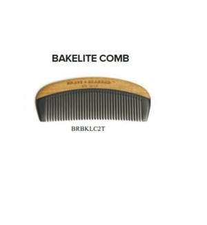 BRAVE AND BEARDED BAKELITE COMB