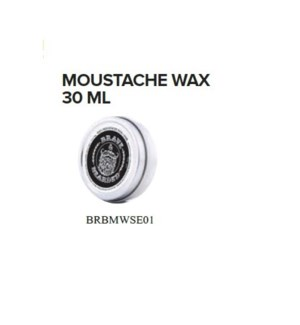 BRAVE AND BEARDED MOUSTACHE WAX 30ML