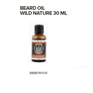 BRAVE AND BEARDED WILD NATURE BEARD OIL 30ML