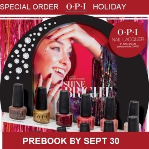 OPI HOLIDAY SPECIAL ORDER