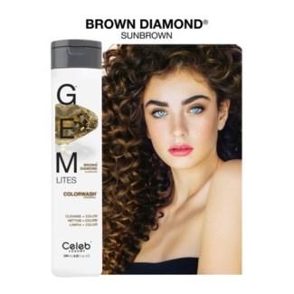 CL GEM LITES BROWN DIAMOND SHAMPOO 244ML / 8.25OZ