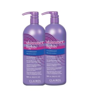 CLAIROL SHIMMER LIGHTS CONDITIONER 931ML X 2 JF'20