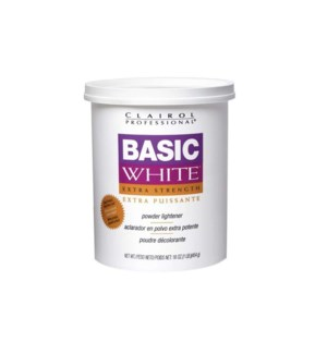 CL BASIC WHITE - POWDER LIGHTENER 1LB TUB
