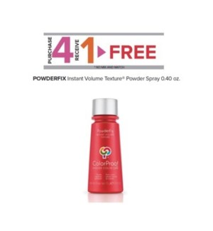 COLORPROOF POWDERFIX TEXTURE SPRAY .4OZ  4 + 1  ND'19