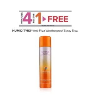 COLORPROOF HUMIDITY ANTI-FRIZZ SPRAY 5OZ  4 + 1  ND'19