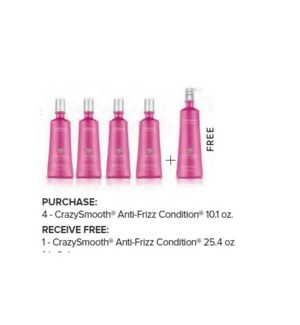 COLORPROOF 4+1 L CRAZYSMOOTH ANTI-FRIZZ CONDITIONER  ND'19