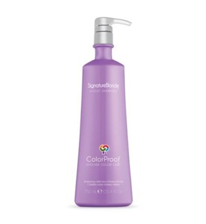 COLORPROOF SIGNATURE BLONDE VIOLET SHAMPOO 25.4OZ