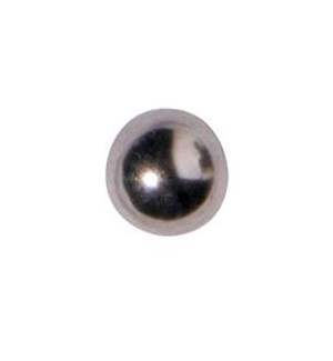 CR INV 3MM BALL EARRINGS/ PR