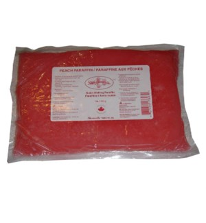 SHARONELLE 1LB PEACH PARAFFIN WAX 450G BAG