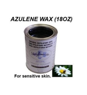SHARONELLE WAX 18OZ - AZULENE