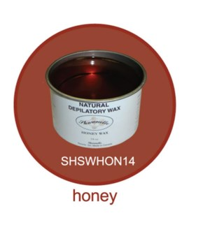 SHARONELLE WAX 14OZ - HONEY