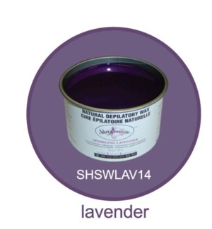 SHARONELLE LAVENDER WAX 14OZ