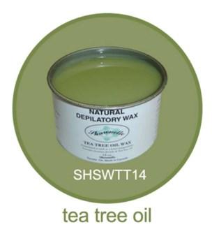 SHARONELLE TEA TREE OIL WAX 14OZ