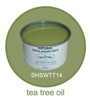 SHARONELLE WAX 14OZ - TEA TREE