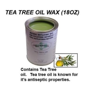 SHARONELLE WAX 18OZ - TEA TREE