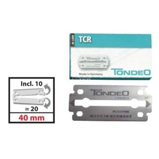 DA TONDEO M-LINE TCR BLADES 40MM 10 PACKS OF 10