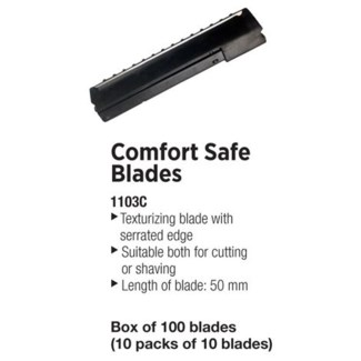 DA TONDEO M-LINE COMFORT SAFE BLADES 50MM 100/BOX