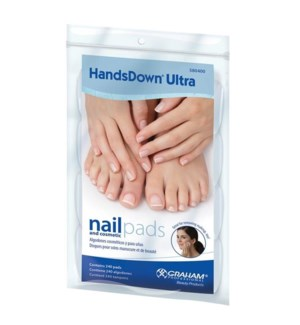 DA NAIL AND COSMETIC PADS  240/BAG (580400)