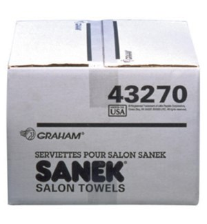 DA SANEK 3-PLY SALON PAPER TOWELS 500/BOX
