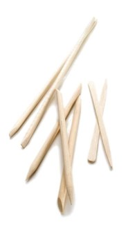 "DA MINI WOOD APPLICATOR STICKS 3.5"" (100/BAG)"