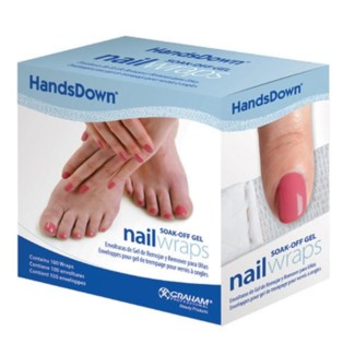 DA HANDSDOWN SOAK-OFF GEL WRAPS (100PC) (580461)