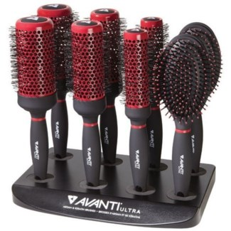 DA AV ULTRA ARGAN AND KERATIN BRUSH 8PC DISPLAY
